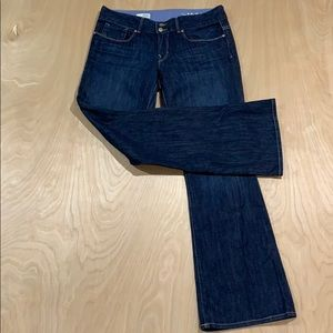 Gap Women's Perfect Bootcut Dark Wash Blue 28/6a